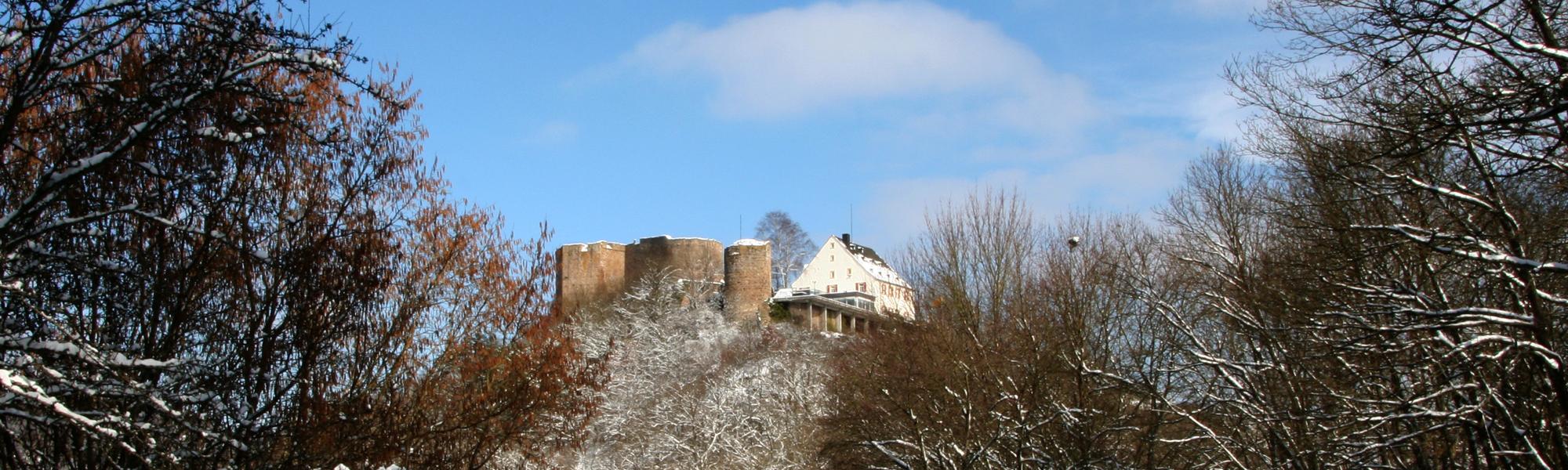 Kyrburg Winter